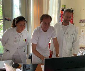 Nella foto Giuseppe Visani e Alessandro Isidori
